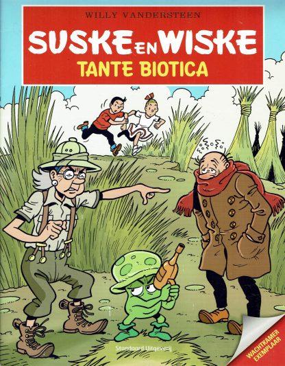 Suske en Wiske - Tante Biotica (wachtkamer exemplaar)