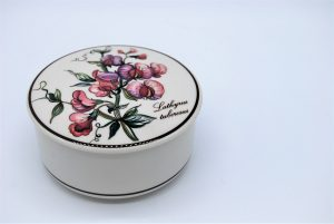 Villeroy & Boch - Botanica - Lathyrus tuberosus -dekseldoosje