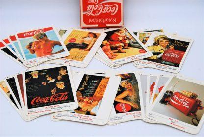 Vintage Coca Cola kwartetspel