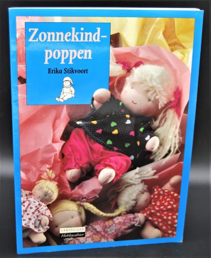 Zonnekind poppen maken met dit hobbyboek-Erika Stikvoort