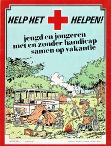 Beter voor Bert - Suske en Wiske infostrip Nederlandse Rode Kruis 1983