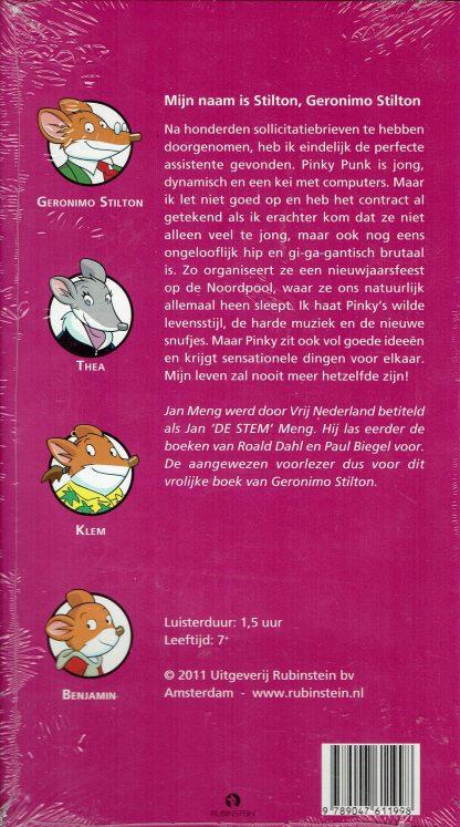 CD-Luisterboek - Mijn is Stilton - Geronimo Stilton