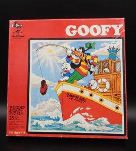 Goofy puzzel 25 stukjes (1970)