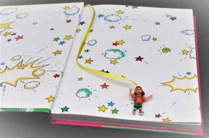 Heksje Lilly wordt een prinses-Full colour kinderboek- Knister
