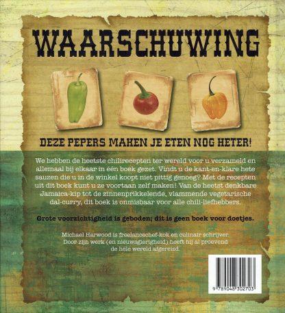 Michael Harwood - Het ultieme superhete chilipeper kookboek-9789048302703