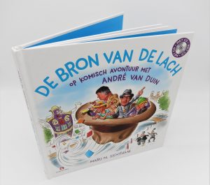 Op komisch avontuur met Andre van Duin-De Bon van de lach-kinderboek met cd