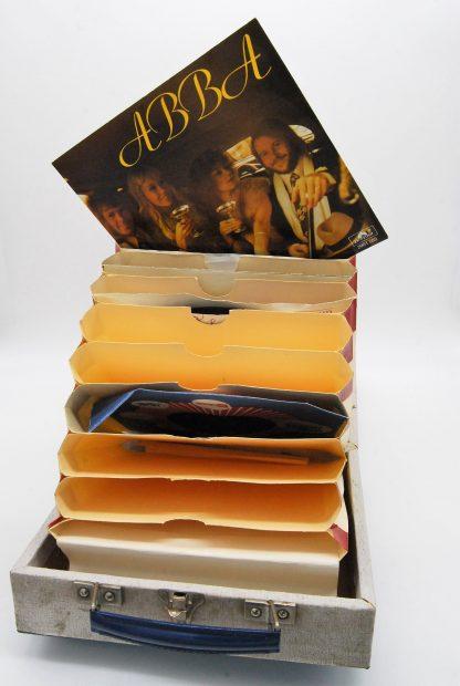 Singles platenkoffer Cheney jaren 60