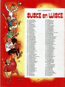 Sony-San Suske en Wiske stripinfo-25 jaar Sony in Nederland 1986