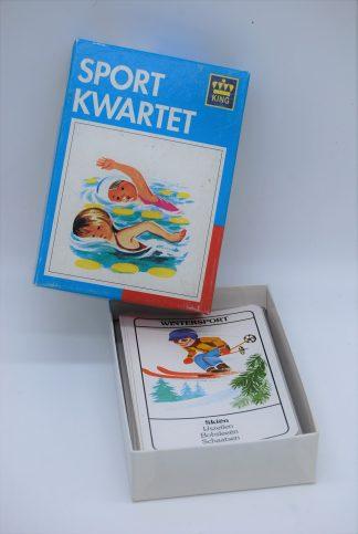 Sportkwartet vintage- King nr 883- jaartal 1988