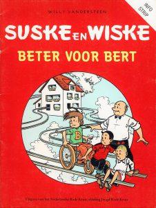 Suske en Wiske infostrip 1983 - Beter voor Bert-verzamelstrip