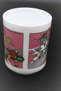 Tom en Jerry Tennis-Vintage beker-Arcopal France