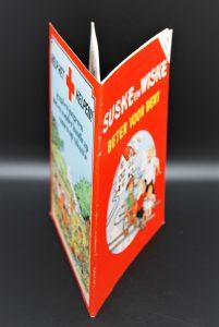 Verzamelstrip Suske en Wiske-Beter voor Bert-Uitgave Rode Kruis 1983