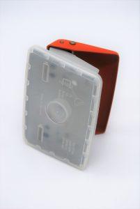 Vintage oranje perforator - Leitz nr 5028