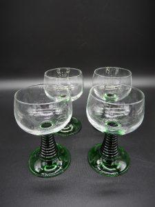 Vintage roemer glazen (France)