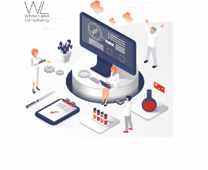 WLC // Medical Research Isometirc Image // Privacy in Health and Research