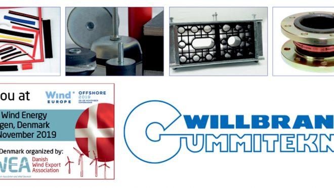 WILLBRANDT klar til WindEurope Offshore 2019