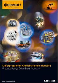 Lieferprogramm-Antriebsriemen-Industrie