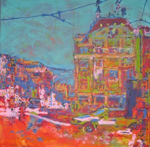 Dam Square Bijenkorf 2009 #0126