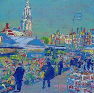 Bloemenmarkt Flowermarket #0562