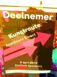 DSCN7086 KUNSTROUTE 3 APRIL 2016 APELDOORN DIRECT SM