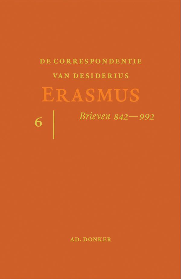 De correspondentie van Desiderius Erasmus 6