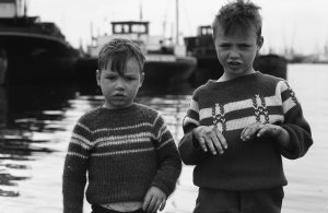 Maashaven kinderen metrobouw