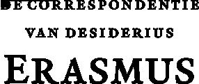 De correspondentie van Desiderius Erasmus 21 boeken