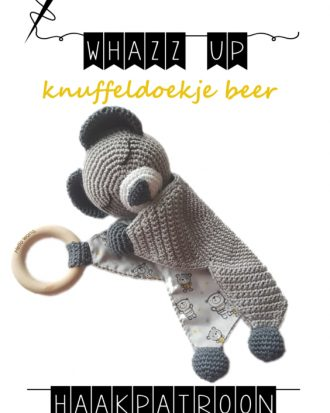 whazz up knuffeldoekje beer