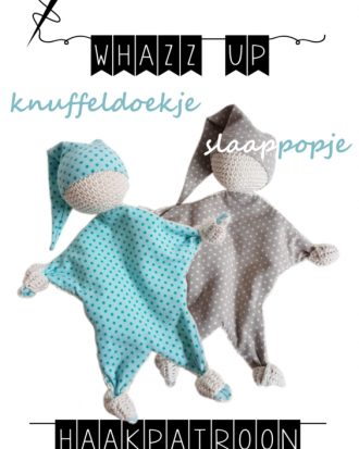 whazz up knuffeldoekje slaap pop