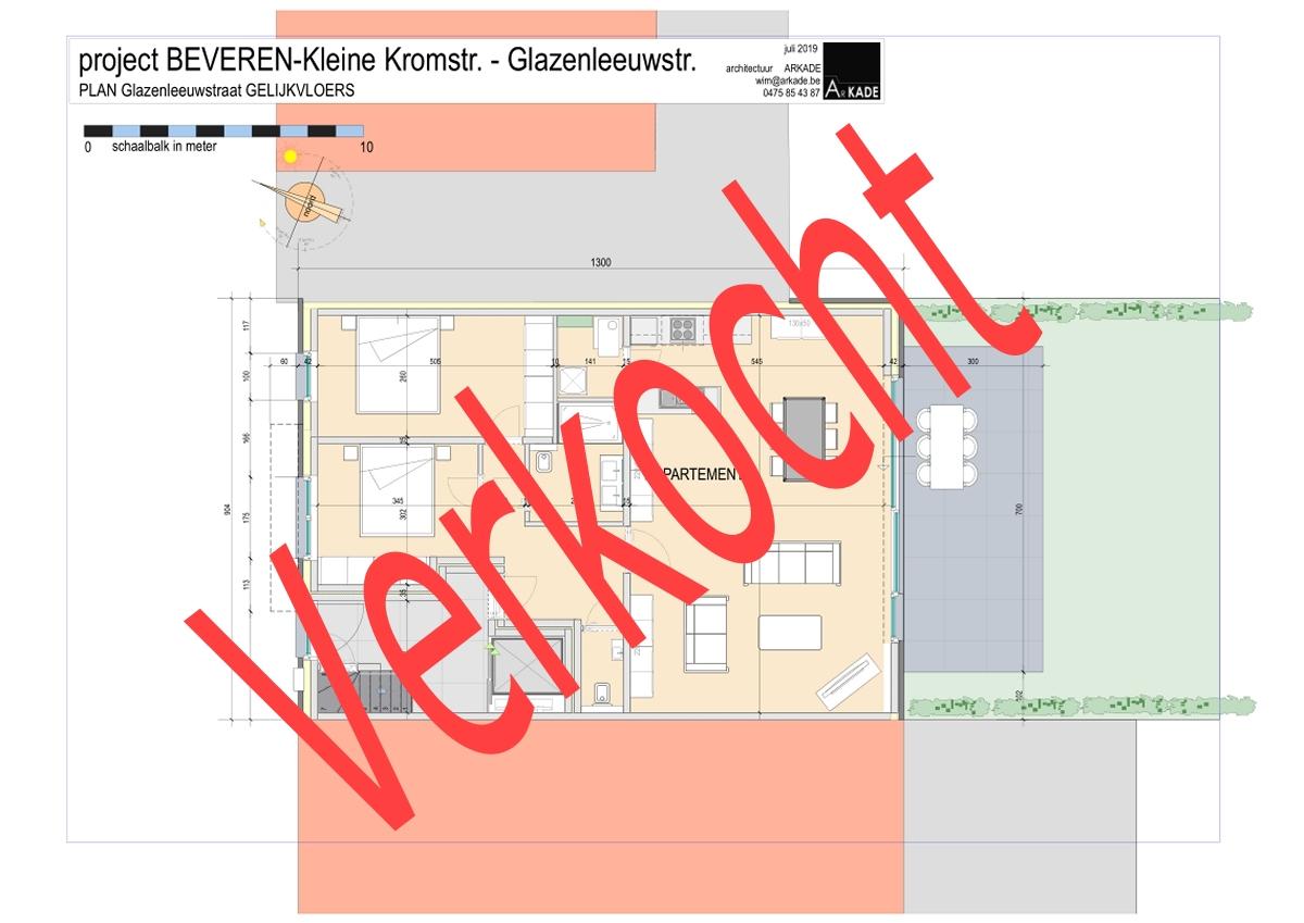PLAN Glazenleeuwstraat GELIJKVLOERS VERKOCHT