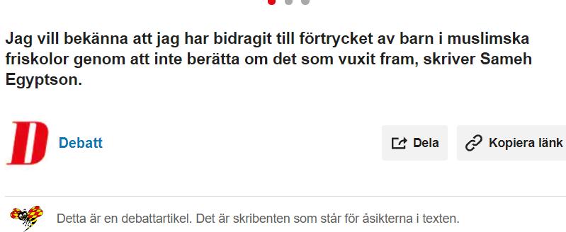 Jag trodde aldrig att Sverige skulle låta detta ske