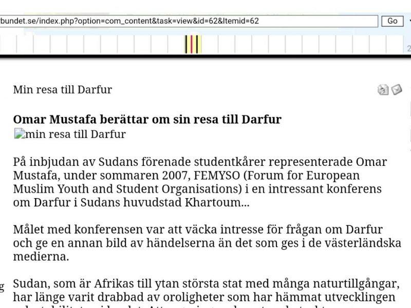 Sudan överger sharia men Sverige finansierar den