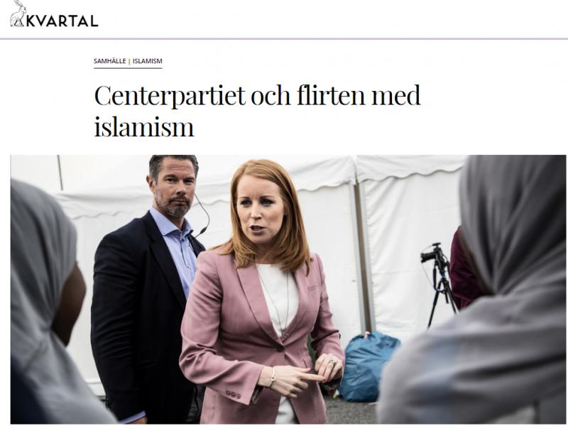 Centerpartiet och flirten med islamism