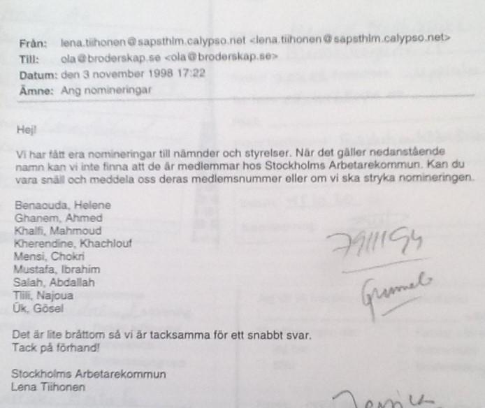 Leder Stefan Löfven en politisk etnisk rensning mot muslimer?