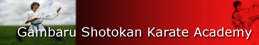 Gambaru Shotokan Karate Academy