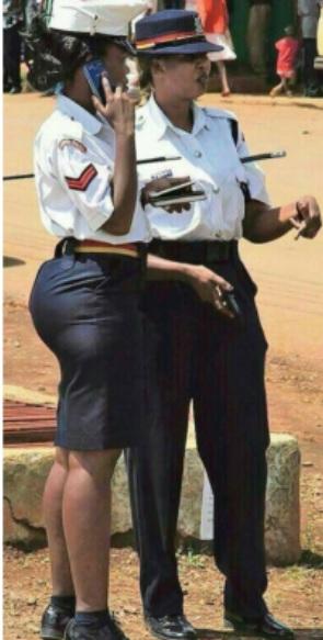 Policewoman Linda Okello deemed too attractive in official uniform