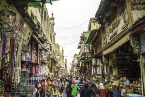El Moez straat in Cairo