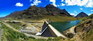 Hydroelektrische centrale in Peru