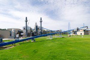 groene energie via biomassacentrale