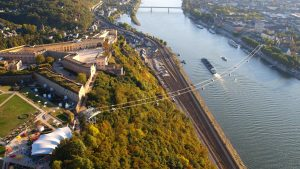 Rheinseilbahn in Koblenz