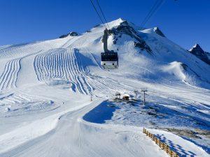 La Grande Motte gletsjer in Tignes