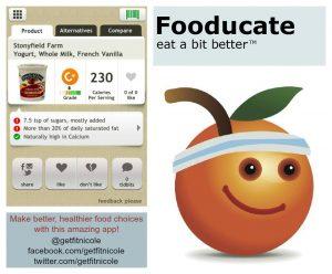 de beste gezondheids-apps fooducate app