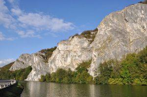 Rotsklimmen op de Freyr nabij Dinant