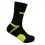 waterdichte sokken geel met zwart