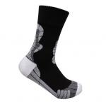 waterdichte sokken zwart met grijs