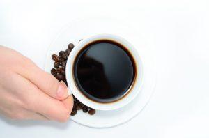 kopje koffie tegen de winterblues is altijd lekker