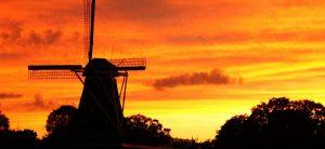 korenmolen De Zwaluw in Hoogeveen