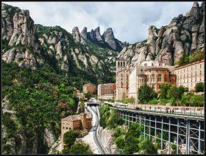 Het klooster van Montserrat