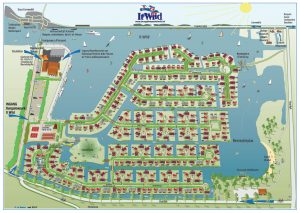 It Wiid Bungalowpark plattegrond