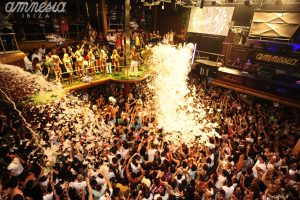 Club Amnesia in Ibiza